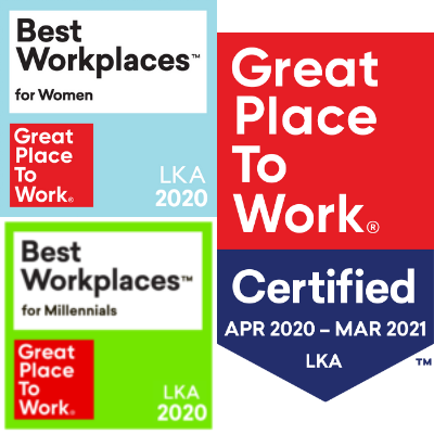 Great Place to Work Certified Sri Lanka (2019,2020)