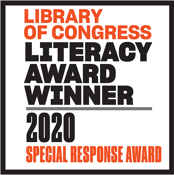 Library of Congress Literacy Award, Special Response Award (2020)