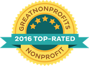 Great Nonprofits Top Rated List (2016, 2014, 2013)