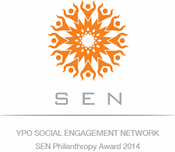 Young Presidents' Organization Social Engagement Network (SEN) Philanthropy Award (2014)